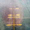 Signals on a landing strip