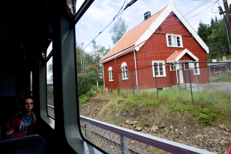 Public transportation is widely used in Scandinavia, where people is very concerned about enviromental issues.