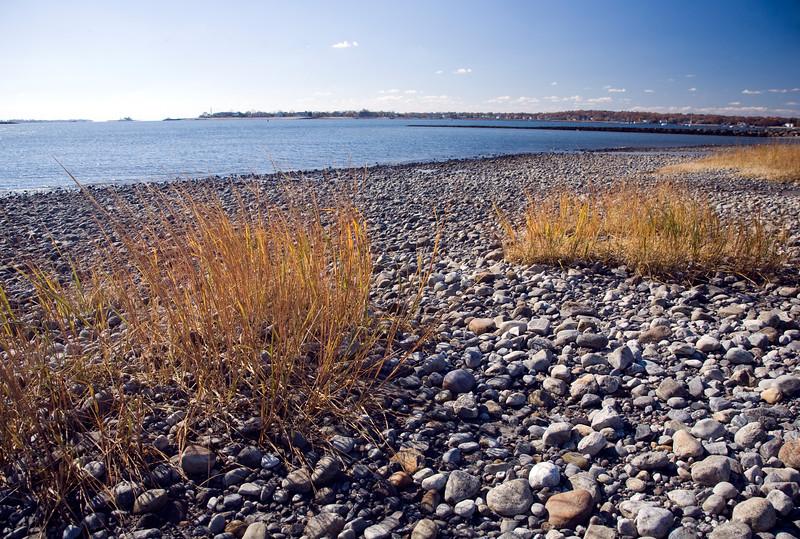 Pebbles at Compo Beach, CT, USA