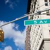 Street sing of 5th Av., NYC, USA