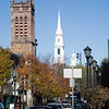 View of New Haven, CT, USA