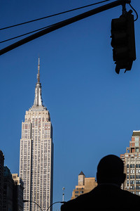 South side of the Empire State Building as seen from Madison Square, New York City, USA