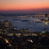 Lower Manhattan and Hudson River from the Empire State Building, NYC, USA