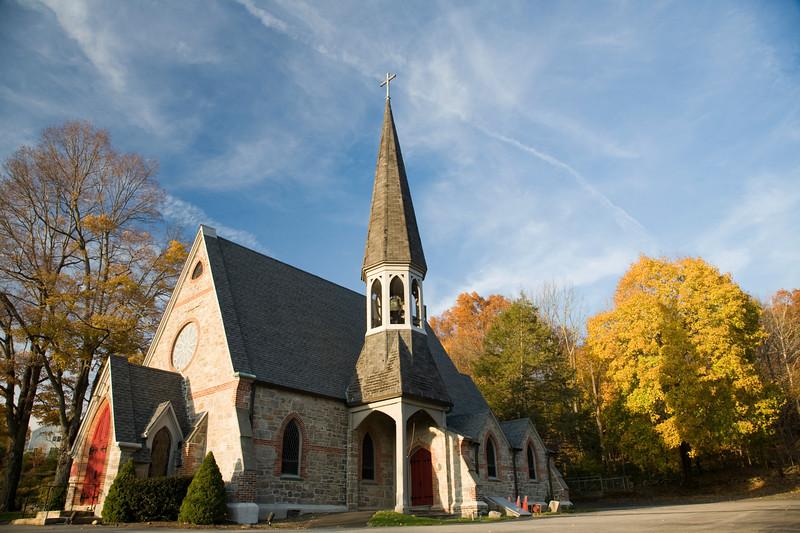 Baptist church, Wilton, CT, USA