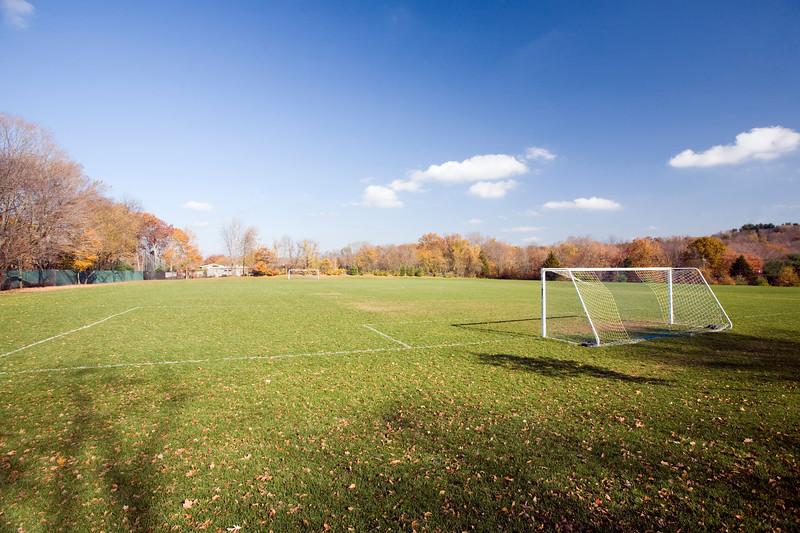 Soccer field, CT, USA
