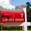 Mail box, Connecticut, USA