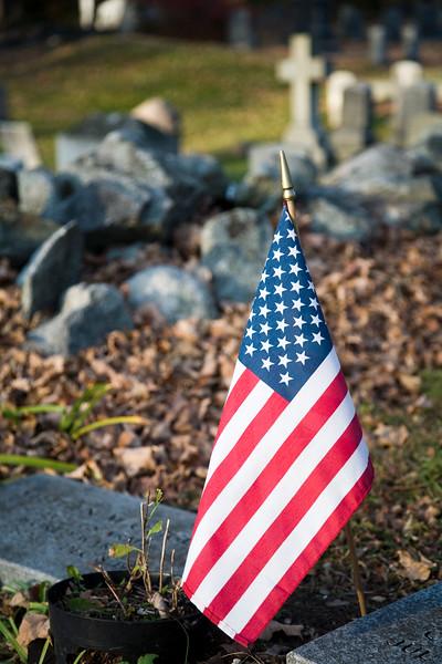 Old graveyard, Wilton, CT, USA