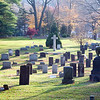 Old graveyard, Wilton, CT, USA