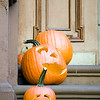 Halloween pumpkins, Greenwich Village, USA