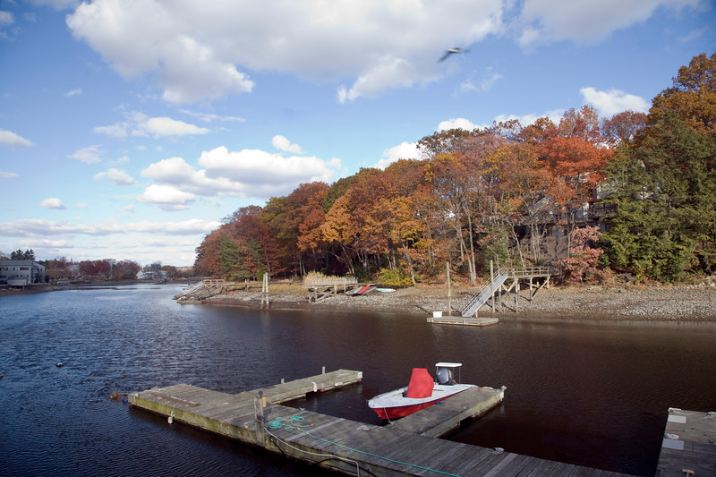 Saugatuck River, Westport, CT, USA