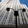 The Empire State Building from 33rd street, NYC, USA