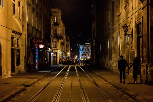 Lviv at Night