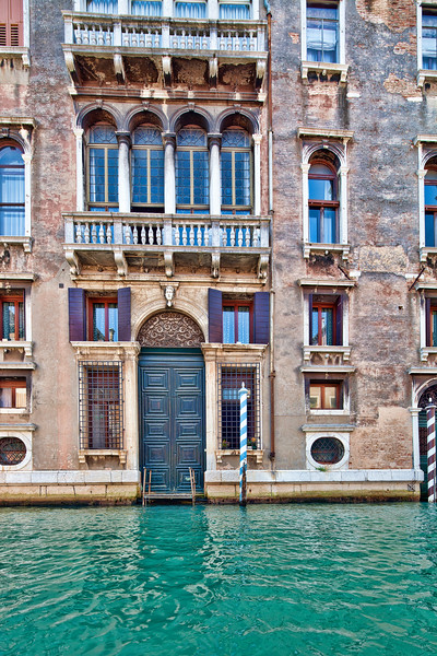 Palazzo by the water, Venice, Italy