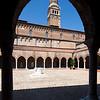 Cloister of the Madonna dell'Orto church, Cannaregio, Venice, Italy