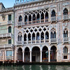 Ca' d'Oro Palace from the Grand Canal, Venice, Italy