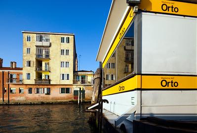 Madonna dell'Orto Boat Stop, Venice, Italy