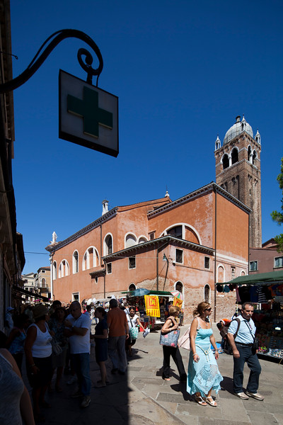 Santa Fosca church, Cannaregio, Venice