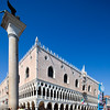 View of Palazzo Ducale from the Piazetta, Venice, Italy