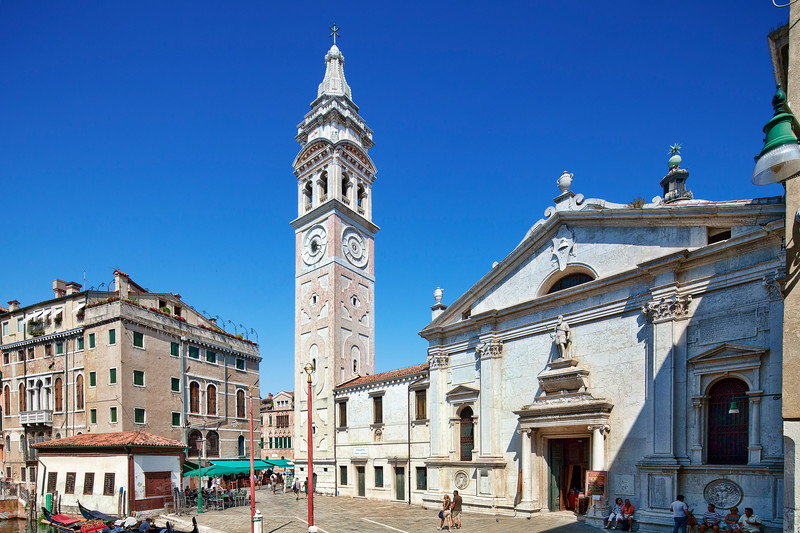 Santa Maria Formosa church, Castello, Venice, Italy