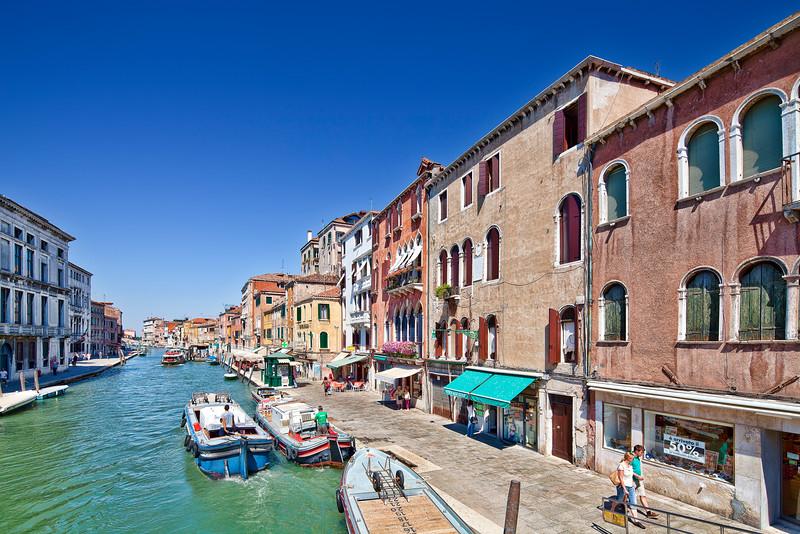 Cannaregio Canal, Venice, Italy