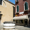 Campiello Bruno Crovato, Cannaregio quarter, Venice, Italy. A Campiello is the Venetian name for a small square.