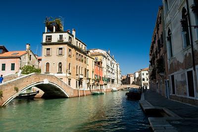 Cityscape, Dorsoduro quarter, Venice, Italy
