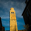 Madonna dell'Orto bell tower. Gothic building (14th century), Cannaregio quarter, Venice, Italy