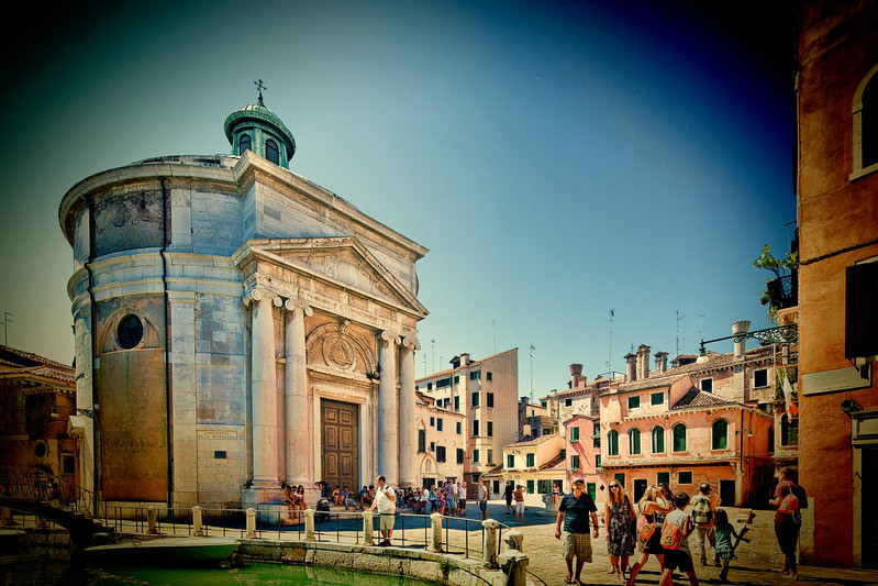 Santa Maria Maddalena church, in Cannaregio, Venice, Italy