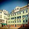 Campo (Square) in Cannaregio, Venice, Italy