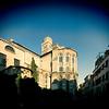 Rear view of Frari church, San Polo sestiere, Venice, Italy