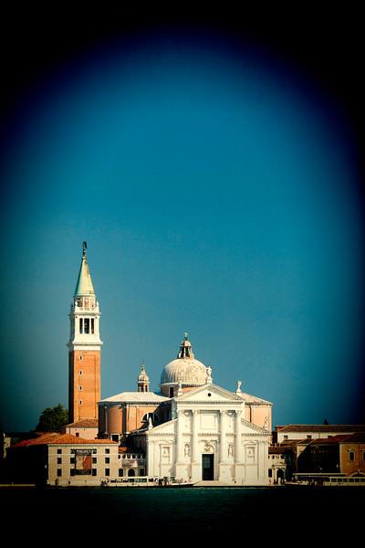 Basilica of San Giorgio Maggiore from the Piazzetta, Venice, Italy