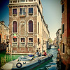 Typical Venetian houses, Castello, Venice, Italy