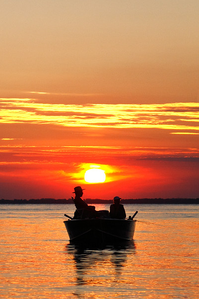 Gone Fishing - Lake Winnebago (Wisconsin)