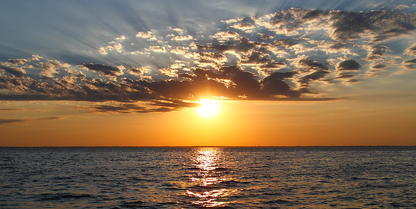 Sunset - Lake Winnebago (Wisconsin)