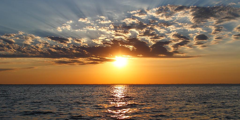 Sunset - Lake Winnebago (Wisconsin)