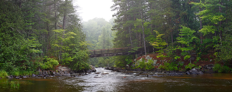 Dave's Falls County Park - Pike River (Marinette County - Wisconsin)