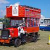 Old bus scale replica