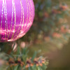 Purple bauble with space