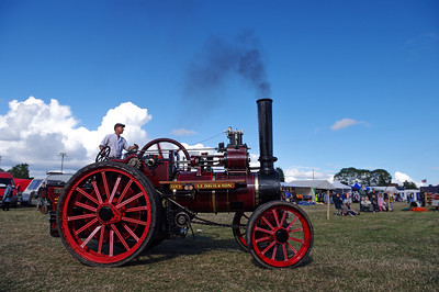 Garrett agricultural traction engine