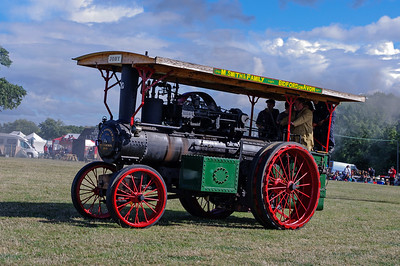 Stean traction engine Joby.