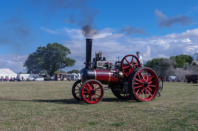 Garrett agricultural traction engine.
