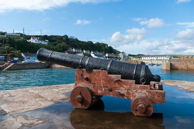 Porthleven cannon