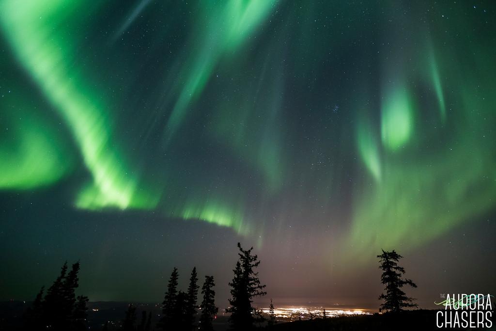 Lights over Fairbanks
