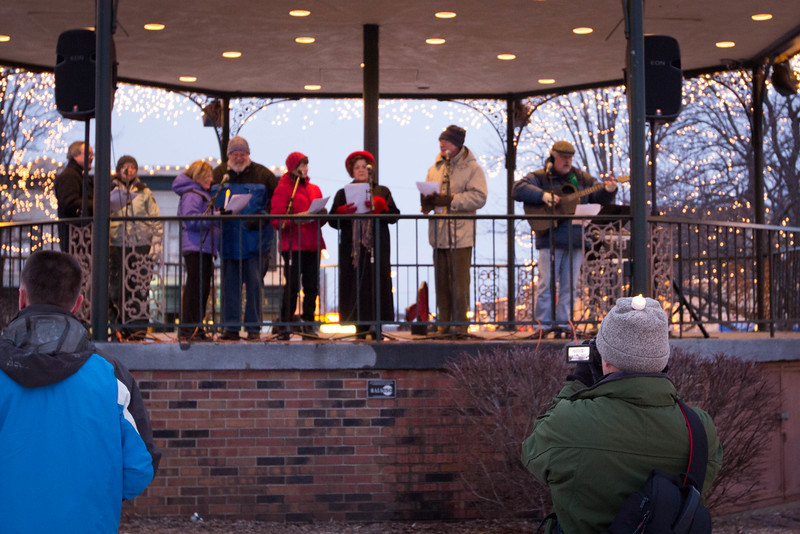 Woodstock Candlelight Vigil for Connecticut tregedy. Keep our Children and schools Safe in McHenry County!