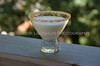 Coconut Rimmed Creamy Drink 025