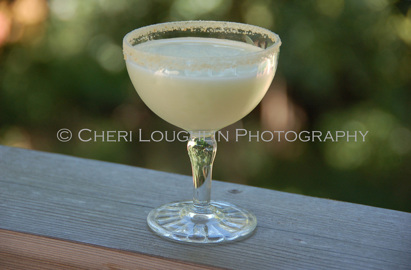 Coconut Rimmed Creamy Drink 042