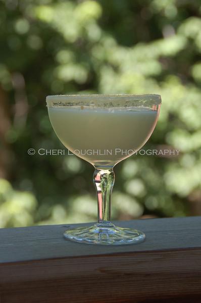 Coconut Rimmed Creamy Drink 048