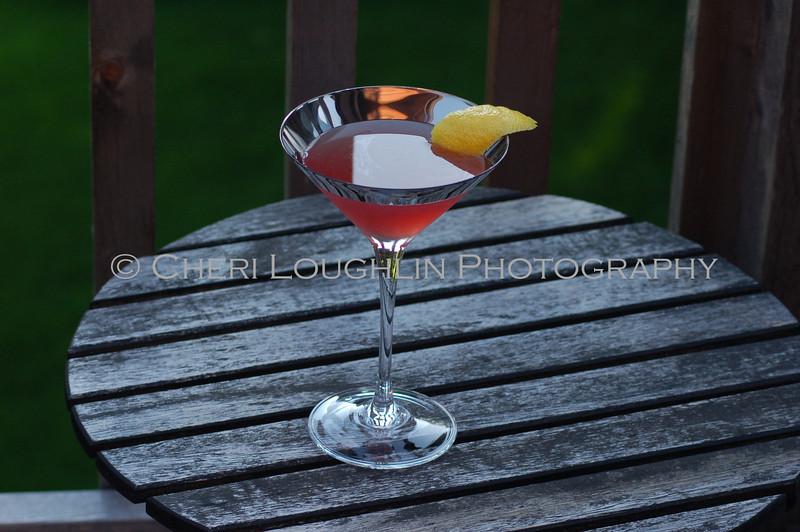 Vodka, Creme de Cassis, Lemon Juice, Champagne, Lavendar