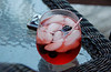 Red Drink with Blackberries On the Rocks 074