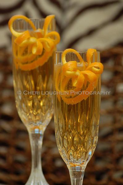 Champagne Flute Orange Twist 029-2009-10-29
